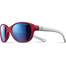 Julbo Kids 4-8Y Romy Spectron 3CF Sunglasses Matt Red/Matt White-Multilayer Blue